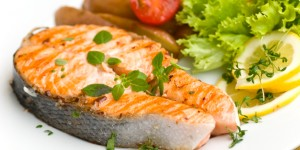 Grilled Salmon Pesce Fresco